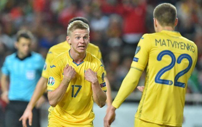 Общество: Сборная Украины занимает место в топ-30 самых дорогих команд мира