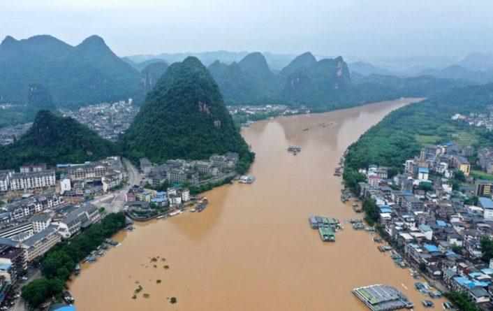 Общество: Наводнение в Китае: пострадали уже более 1,45 млн человек