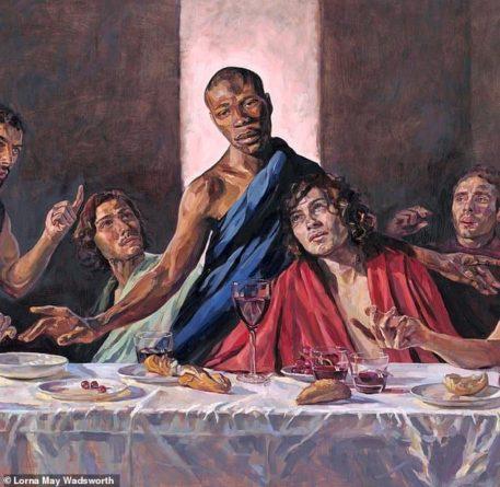 Общество: В британском соборе представили картину с темнокожим Иисусом - Cursorinfo: главные новости Израиля