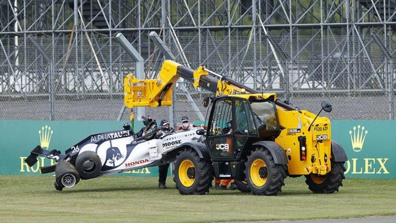 Общество: Авария Квята, проколы у Mercedes и лидерство Хэмилтона: чем завершился Гран-при Великобритании