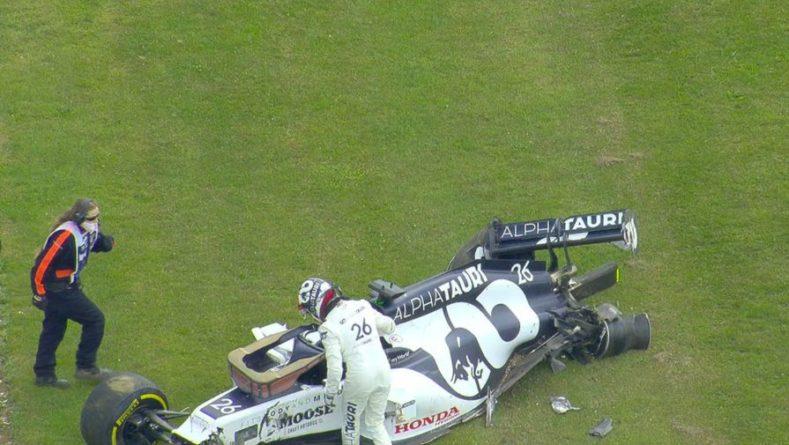 Общество: Стали известны причины аварии Квята на Гран-при Великобритании