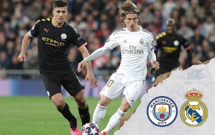 Общество: Манчестер Сити - Реал: где смотреть матч