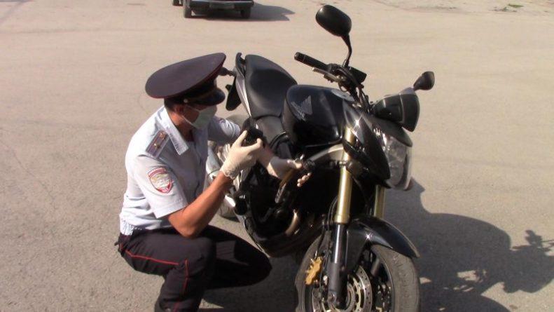 Общество: Кузбасские полицейские обнаружили мотоцикл, который был угнан в Великобритании