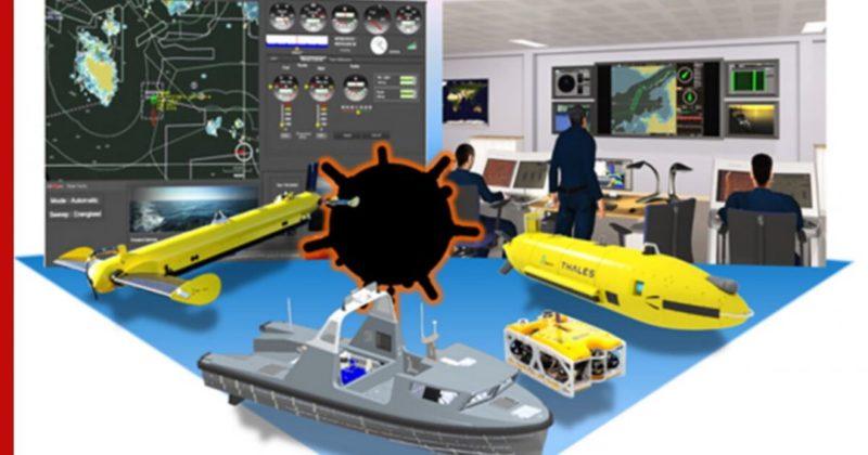 Общество: ВМС Франции и Великобритании испытают робота-тральщика