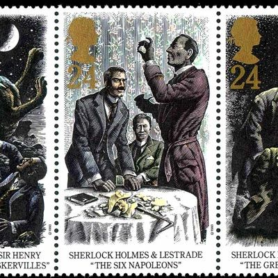 Общество: Почта Великобритании выпустит коллекцию марок, посвященных Шерлоку Холмсу
