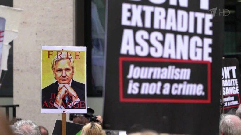 Общество: В Лондоне возобновился процесс над основателем WikiLeaks Джулианом Ассанжем