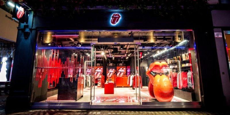 Общество: В Лондоне. Rolling Stones открыли свой первый специализированный магазин