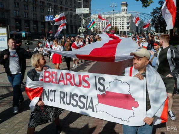 Общество: США, Великобритания и Канада заявили о непризнании Лукашенко легитимным президентом