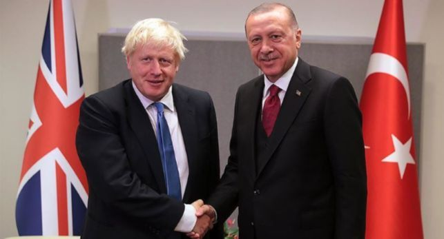 Общество: Эрдоган и Джонсон обсудили агрессию Армении против Азербайджана
