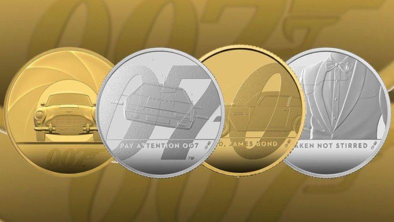 Общество: Коллекционную монету в честь агента 007 выпустит монетный двор Британии