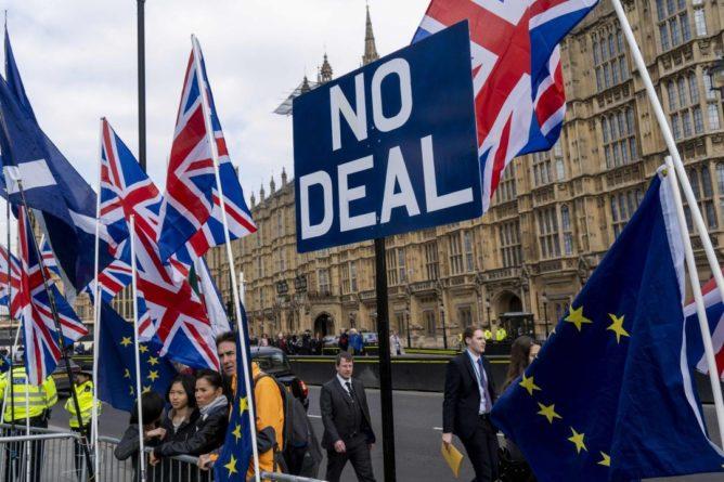 Общество: ЕС и Британия могут продлить переговоры по Brexit