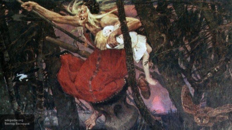 Общество: В Лондоне украли русскую Бабу-ягу