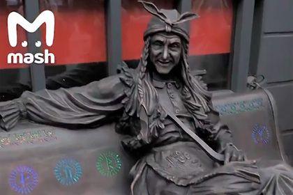 Общество: Скульптуру Бабы-яги похитили в Лондоне