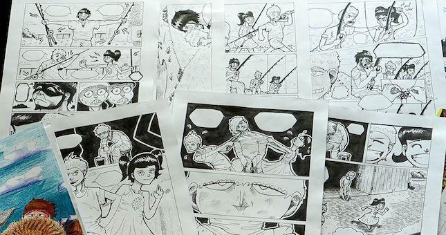 Общество: В Лондоне издан комикс посвященный детям с аутизмом, созданный узбекский студентом на основе книги азербайджанского писателя