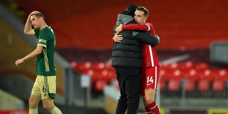 Общество: Ливерпуль Шеффилд 2:1 видео голов и обзор матча АПЛ 24.10.2020 - ТЕЛЕГРАФ
