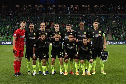 Общество: В Британии назвали позором отказ футболистов «Краснодара» преклонить колени