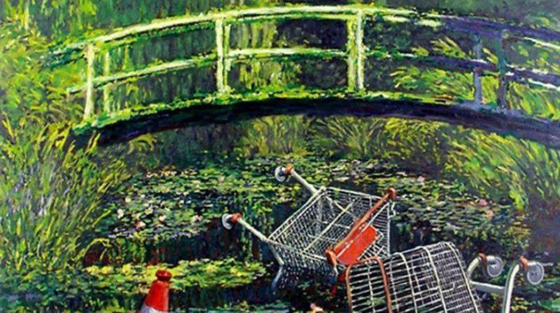 Общество: Картину Бэнкси продали на аукционе в Лондоне почти за $10 млн