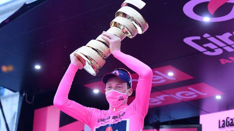 Общество: Британец Харт стал победителем веломногодневки «Джиро д'Италия»