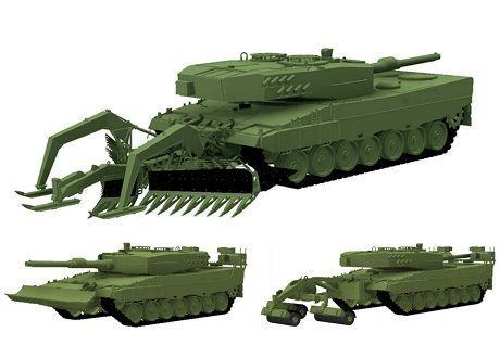 Общество: В Британии разработали быстросъемную сцепку для танков