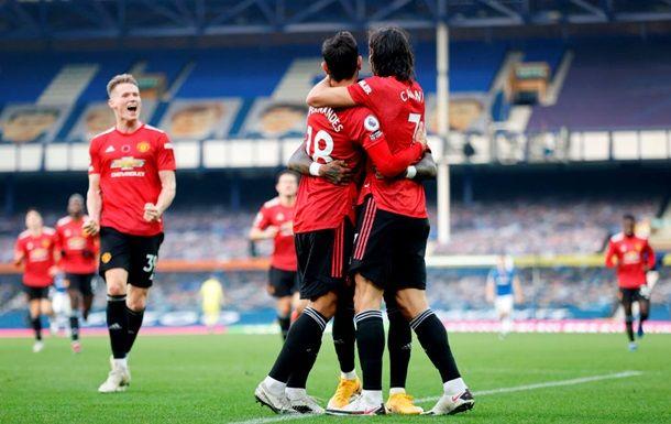 Общество: Манчестер Юнайтед обыграл Эвертон