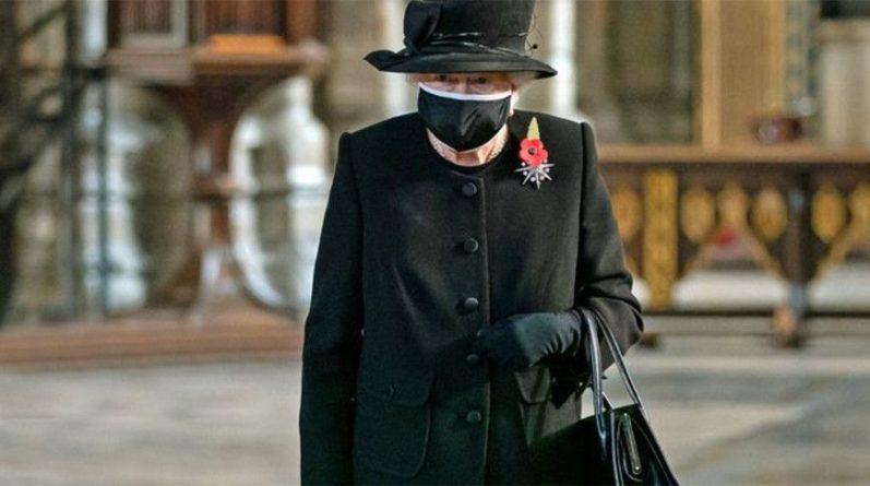 Общество: Королева Великобритании Елизавета II впервые появилась в маске