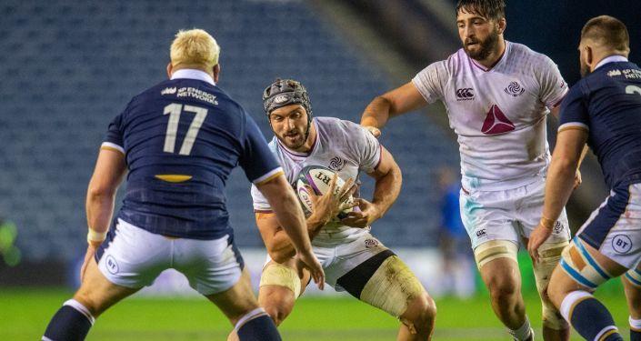 Общество: Сборная Грузии по регби прибыла в Великобританию для участия в турнире
