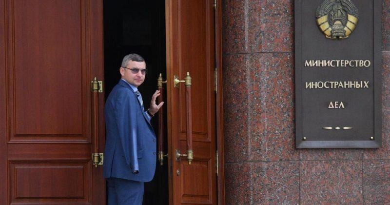 Общество: Белоруссия выслала из страны двух дипломатов Великобритании