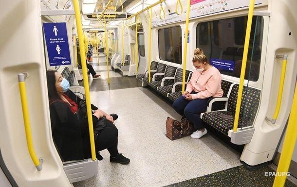 Общество: Ученые не нашли в метро и автобусах Лондона следов COVID