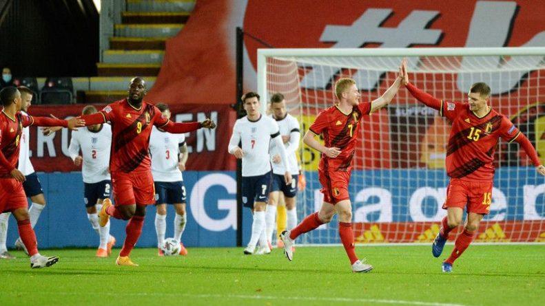 Общество: Бельгия одержала победу над Англией в Лиге наций