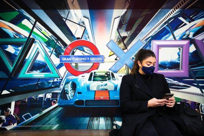 Общество: Несколько станций метро Лондона переименовали в честь выхода PlayStation 5