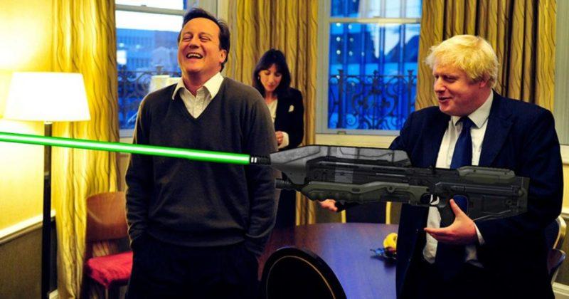 Общество: Звездные войны: Джонсон пообещал британской армии лазерное оружие