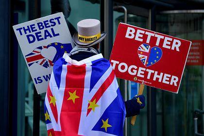 Общество: Британия и ЕС приостановили переговоры по Brexit из-за коронавируса