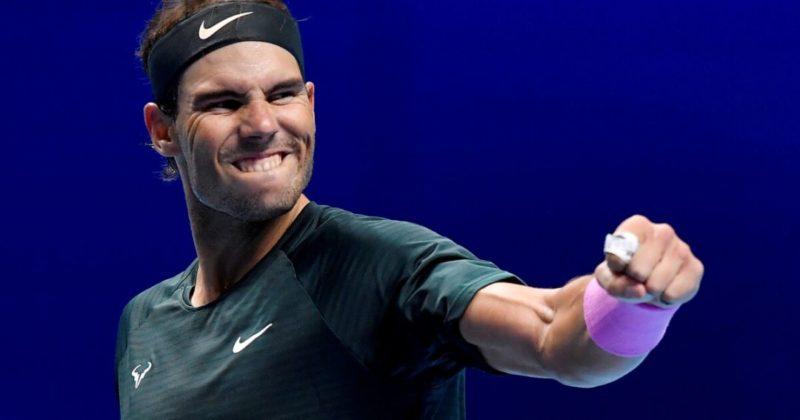 Общество: Надаль зажег в Лондоне и вышел в полуфинал Итогового турнира ATP впервые за 5 лет
