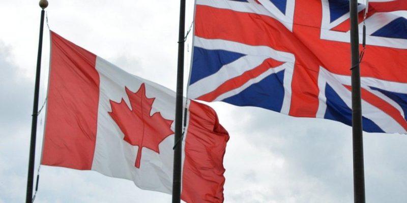 Общество: Британия и Канада согласились сохранить нынешние торговые отношения после Brexit