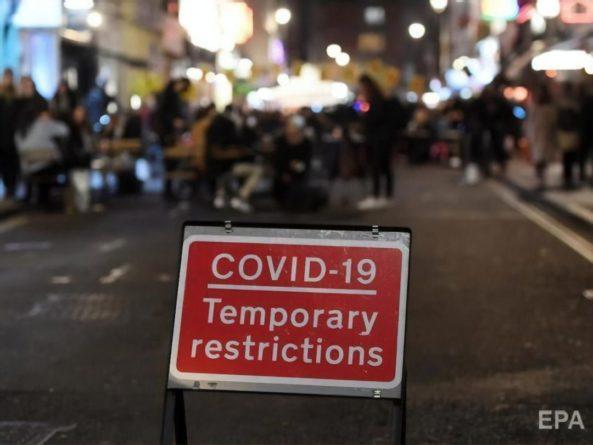 Общество: В Англии в период локдауна число случаев заражения COVID-19 снизилось на 30% – исследование