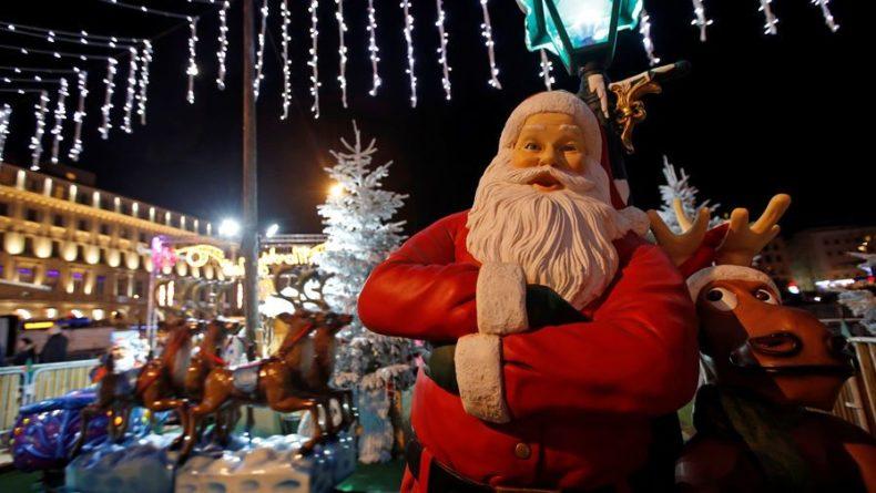 Общество: В Великобритании Санта-Клаусу разрешили не носить маску