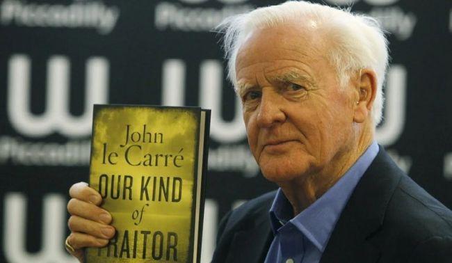 Общество: В Британии скончался автор шпионских романов Джон Ле Карре