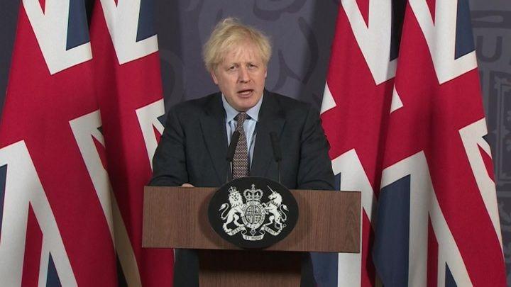 """Общество: Джонсон назвал """"британский"""" штамм COVID-19 более смертельным"""