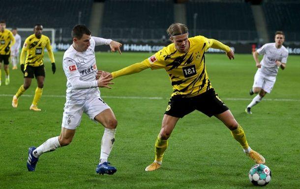Общество: Гладбах обыграл Дортмунд в дерби двух Боруссий