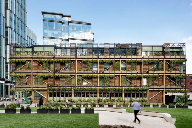 Общество: Джунгли делового Манчестера: новый многофункциональный комплекс в Великобритании – фото