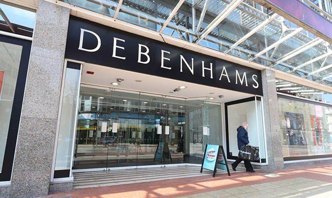 Общество: В Великобритании закрывается работавшая с 1778 года сеть магазинов Debenhams