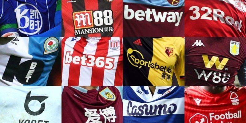 Общество: В Великобритании хотят запретить рекламу букмекерских контор на одежде футболистов
