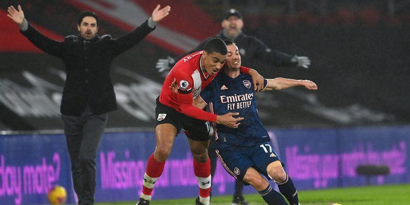 Общество: Саутгемптон Арсенал 1:3 видео голов и обзор матча АПЛ 26.01.2021 - ТЕЛЕГРАФ