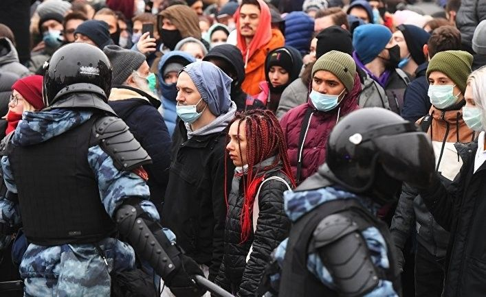 Общество: Gov.uk: заявление Великобритании о нарушении права на мирные собрания в РФ