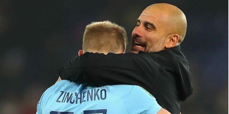 Общество: «Он сделал невероятный шаг вперед». Главный тренер Манчестер Сити расхвалил успехи футболиста сборной Украины