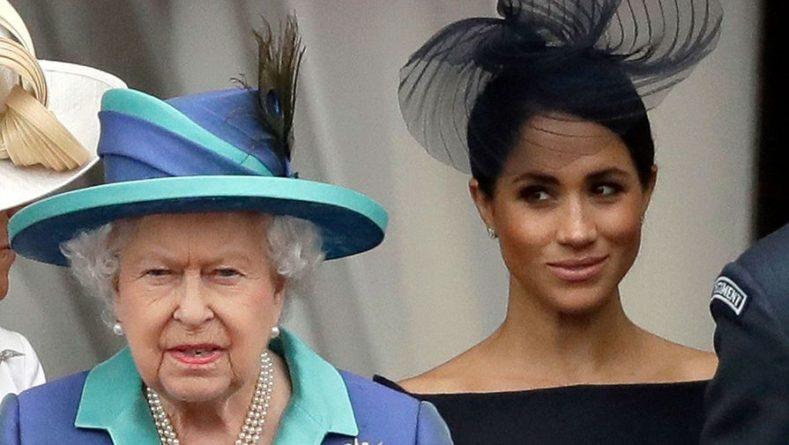 Общество: Меган Маркл отказалась от поездки в Великобританию на день рождения королевы