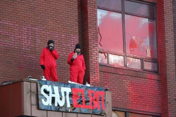 Общество: «Выключи Elbit»: активисты заняли завод оборонной фирмы Израиля в Британии