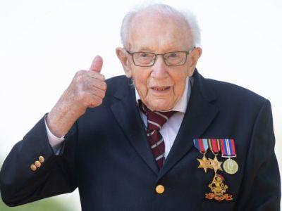 Общество: В Британии от Covid-19 умер 100-летний ветеран Том Мур, собравший миллионы на борьбу с коронавирусом