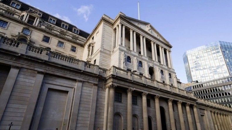 Общество: Банк Англии сохранил учётную ставку на уровне 0,1%
