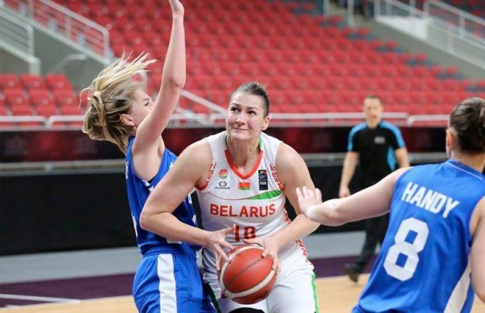 Общество: Белорусские баскетболистки победили сборную Великобритании в квалификации ЧЕ